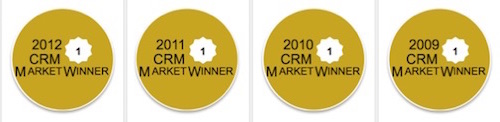 Salesforce CRM - CRM Market Award Winner 2009-2012
