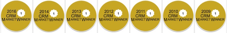 Salesforce CRM - CRM Suite Salesforce - CRM Market Priser Winner 2016