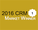 Salesforce CRM 2016 Market Award Vinder - CRM Priser 2016 - Enterprise Suite CRM - Sales Force Automation CRM - Marketing Automation CRM - Mid Market CRM Suite